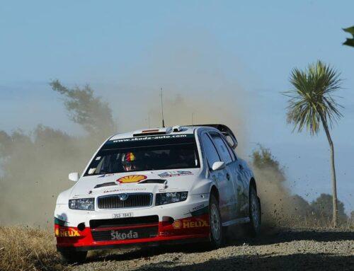 Jak Fabia WRC zvítězila nad krocany